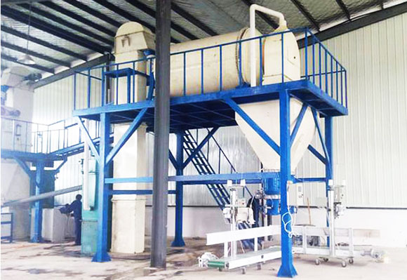 Thermal insulation mortar production line