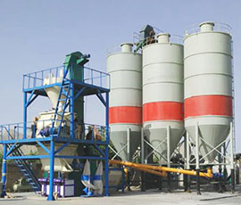 Dry Mix Mortar Plant With Sand Dryer