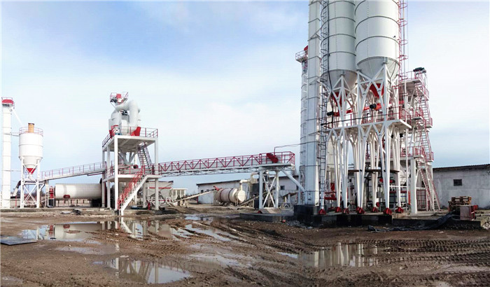 more than 30 ton per hour dry mix mortar plant in russia