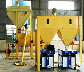 Improved Dry Mix Mortar Production Line