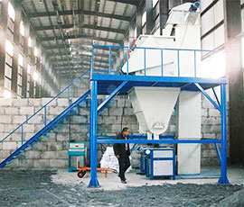 Semi Dry Mix Mortar Production Line